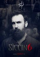 Siccin 6 - Turkish Movie Poster (xs thumbnail)