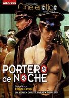Il portiere di notte - Spanish DVD cover (xs thumbnail)
