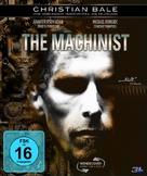 The Machinist - German Blu-Ray cover (xs thumbnail)