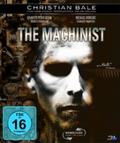 The Machinist - German Blu-Ray movie cover (xs thumbnail)
