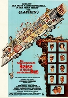 The Big Bus - German Movie Poster (xs thumbnail)