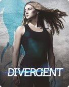 Divergent - British Blu-Ray cover (xs thumbnail)