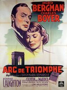 Arch of Triumph - Movie Poster (xs thumbnail)