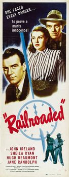 Railroaded! - Movie Poster (xs thumbnail)