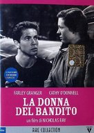They Live by Night - Italian DVD cover (xs thumbnail)