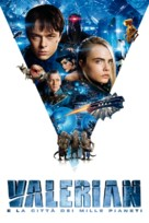 Valerian and the City of a Thousand Planets - Italian Movie Cover (xs thumbnail)