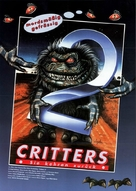 Critters 2: The Main Course - German Movie Poster (xs thumbnail)