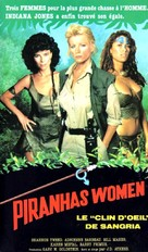 Cannibal Women in the Avocado Jungle of Death - French VHS movie cover (xs thumbnail)