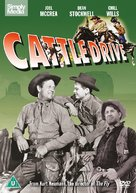Cattle Drive - British DVD cover (xs thumbnail)