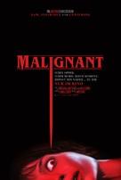 Malignant - German Movie Poster (xs thumbnail)