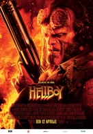 Hellboy - Romanian Movie Poster (xs thumbnail)