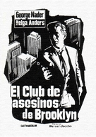 Mörderclub von Brooklyn, Der - Spanish Movie Poster (xs thumbnail)