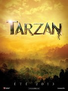 Tarzan - French Movie Poster (xs thumbnail)