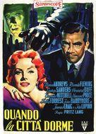 While the City Sleeps - Italian Movie Poster (xs thumbnail)