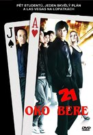 21 - Czech DVD movie cover (xs thumbnail)