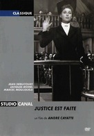 Justice est faite - French Movie Cover (xs thumbnail)
