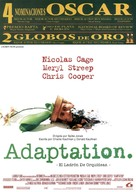 Adaptation. - Spanish Theatrical movie poster (xs thumbnail)