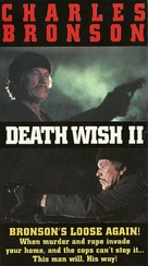 Death Wish II - VHS movie cover (xs thumbnail)