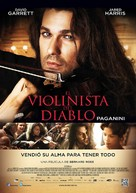 The Devil's Violinist - Mexican Movie Poster (xs thumbnail)
