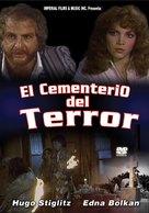 Cementerio del terror - Argentinian DVD cover (xs thumbnail)
