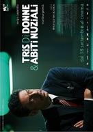 Tris di donne & abiti nuziali - Italian Movie Poster (xs thumbnail)