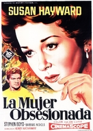 Woman Obsessed - Spanish Movie Poster (xs thumbnail)