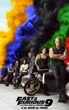 Fast & Furious 9 - Spanish Movie Poster (xs thumbnail)