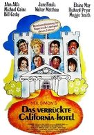 California Suite - German Movie Poster (xs thumbnail)