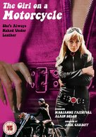The Girl on a Motocycle - British DVD movie cover (xs thumbnail)