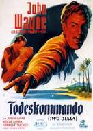 Sands of Iwo Jima - German Movie Poster (xs thumbnail)