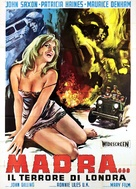 The Night Caller - Italian Movie Poster (xs thumbnail)