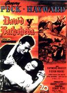 David and Bathsheba - Spanish Movie Poster (xs thumbnail)