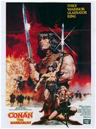 Conan The Barbarian - British Movie Poster (xs thumbnail)