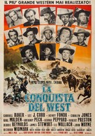 How the West Was Won - Italian Movie Poster (xs thumbnail)