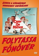 Carry on Matron - Hungarian DVD movie cover (xs thumbnail)