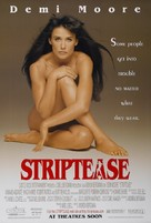 Striptease - Movie Poster (xs thumbnail)