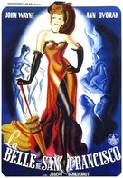 Flame of Barbary Coast - French Movie Poster (xs thumbnail)