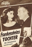 Frankenstein's Daughter - German poster (xs thumbnail)