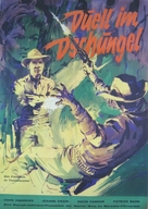 Duel in the Jungle - German Movie Poster (xs thumbnail)