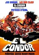 Condor, El - German Movie Poster (xs thumbnail)