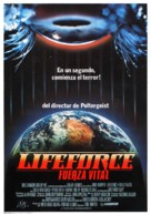 Lifeforce - Spanish Movie Poster (xs thumbnail)