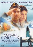 Captain Corelli's Mandolin - Dutch DVD cover (xs thumbnail)