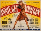Annie Get Your Gun - British Movie Poster (xs thumbnail)
