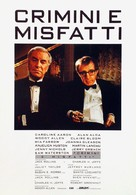 Crimes and Misdemeanors - Italian Movie Poster (xs thumbnail)