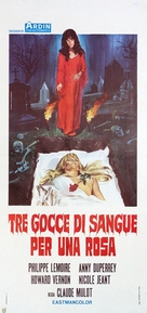 La rose écorchée - Italian Movie Poster (xs thumbnail)