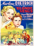 Blonde Venus - French Movie Poster (xs thumbnail)