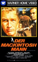 The MacKintosh Man - German VHS movie cover (xs thumbnail)