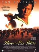 One Man's Hero - Spanish Movie Poster (xs thumbnail)