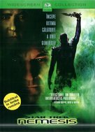 Star Trek: Nemesis - Romanian DVD movie cover (xs thumbnail)