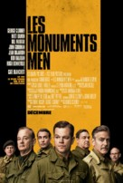 The Monuments Men - Canadian Movie Poster (xs thumbnail)